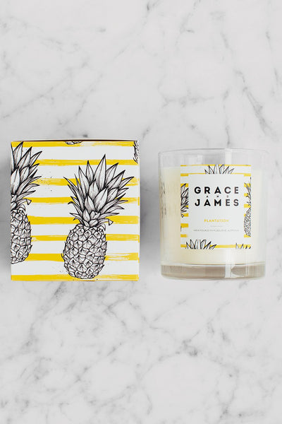 Grace and James Botanical Series Candle - Plantation