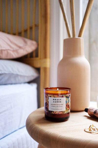 Grace and James Hotcakes & Maple Syrup Candle