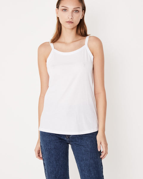 Assembly Label Daily Singlet - White