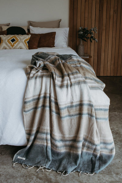 Hobo and Hatch Blanket - Montana Stripe