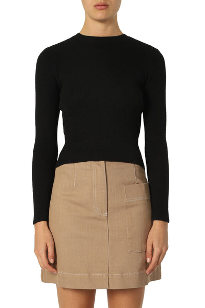 Nude Lucy Regan Fitted Knit - Black