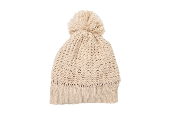 Indian Summer Co Cabin Beanie - Natural