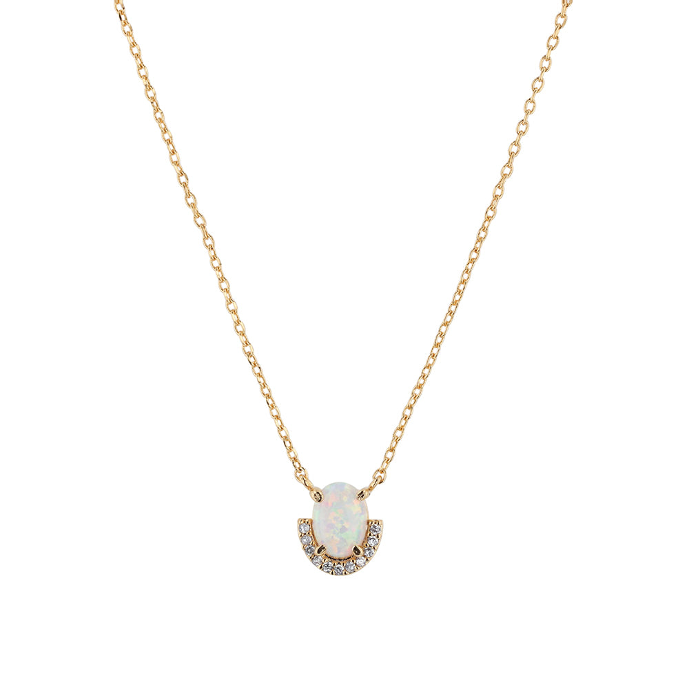 Jolie & Deen Opal Crystal Necklace
