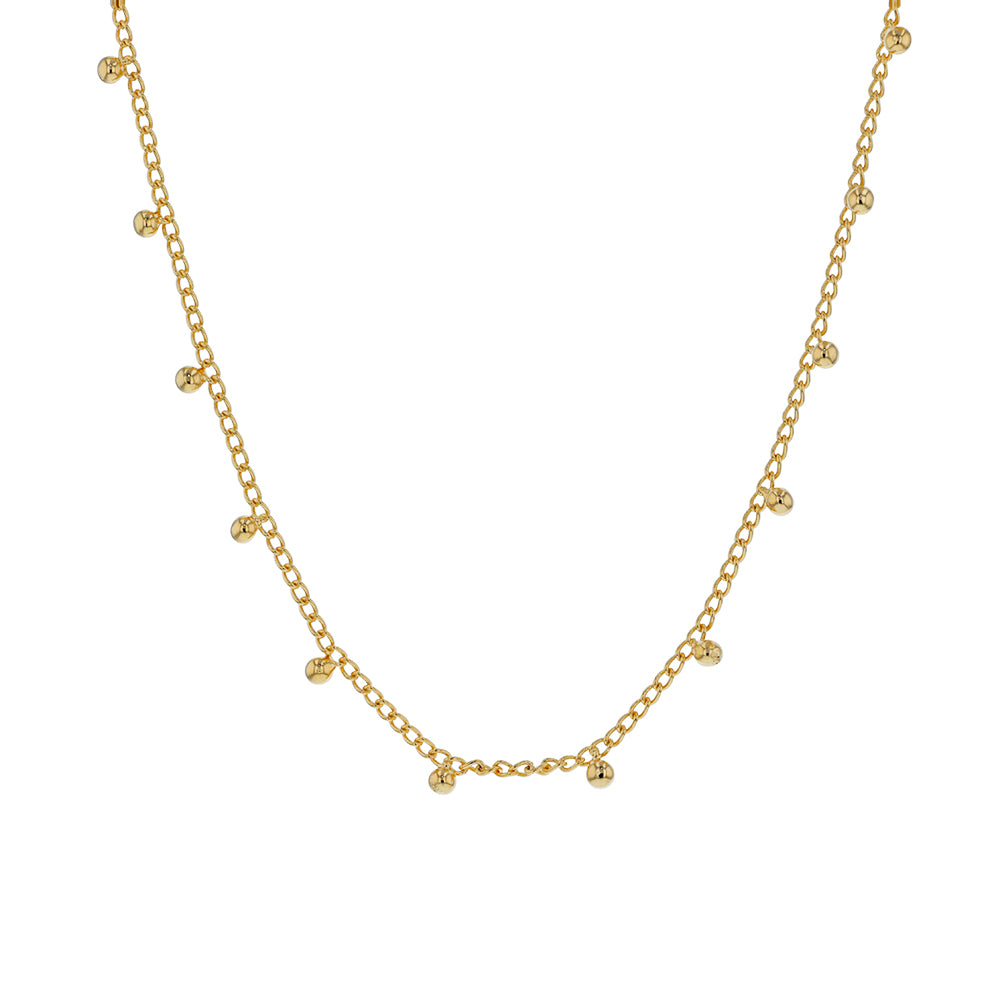 Jolie & Deen Tully Necklace - Gold