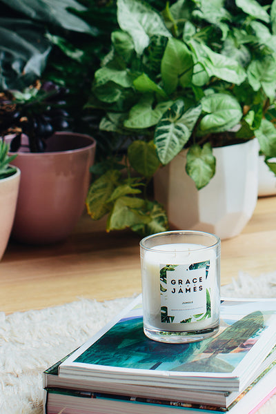 Grace and James Botanical Series Candle - Jungle