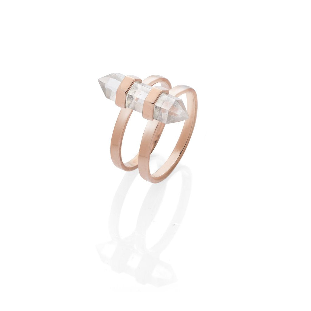 Krystle Knight New Harmony Ring - Rose Gold