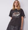 Ena Pelly Tigers Eye Tee - Washed Black