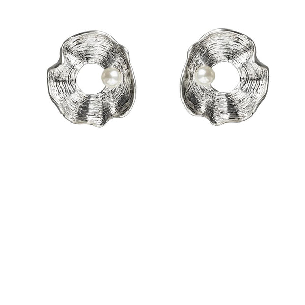 Kitte- Luna Earrings SILVER