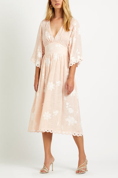 Lacey Maxi Dress - Cotton Candy
