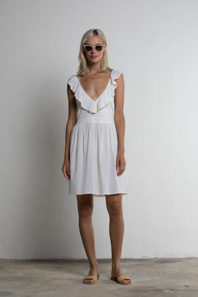 Lilya Pippa Dress - Ivory