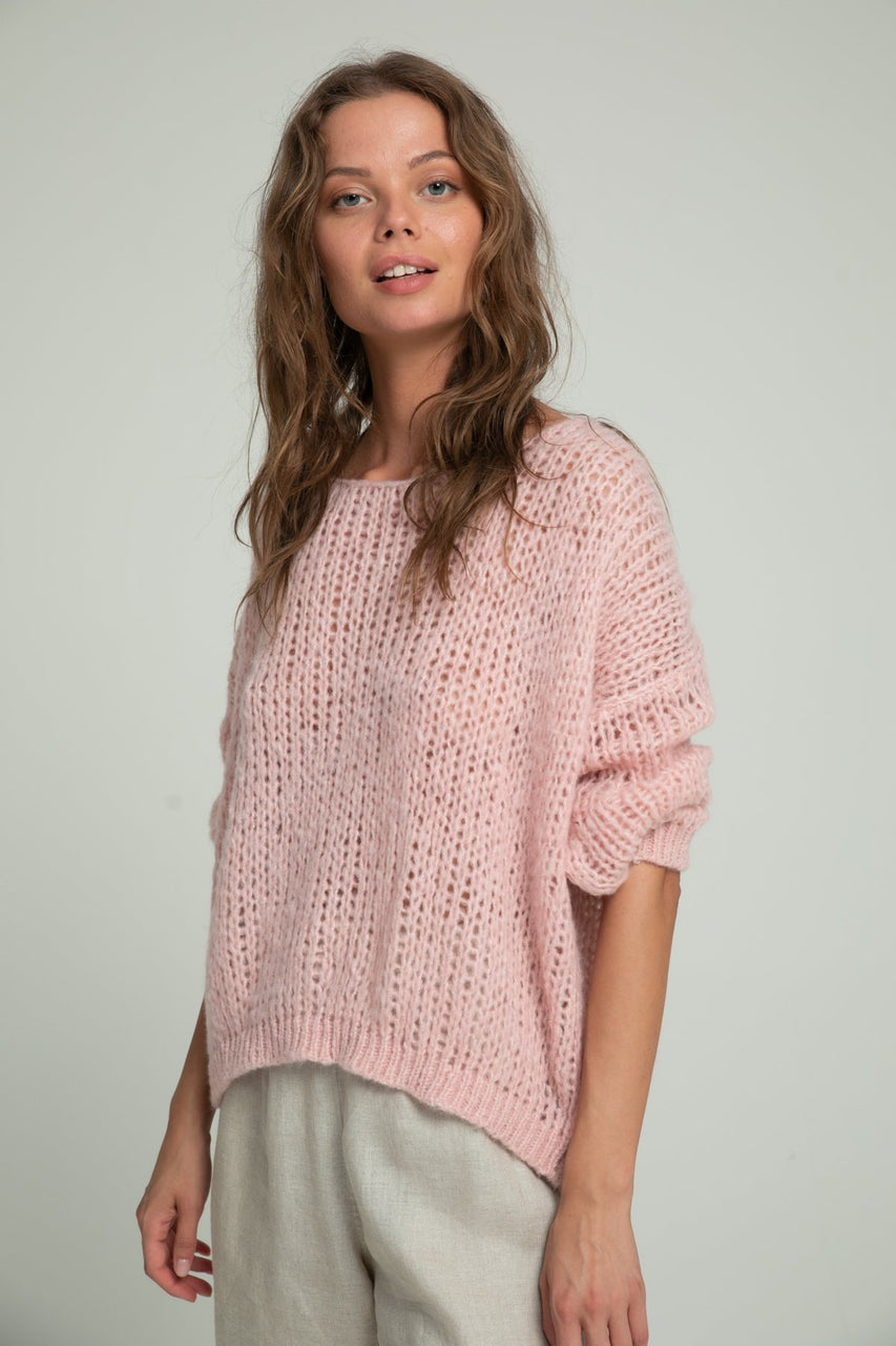 Lilya Lucca Knit - Dusty Pink