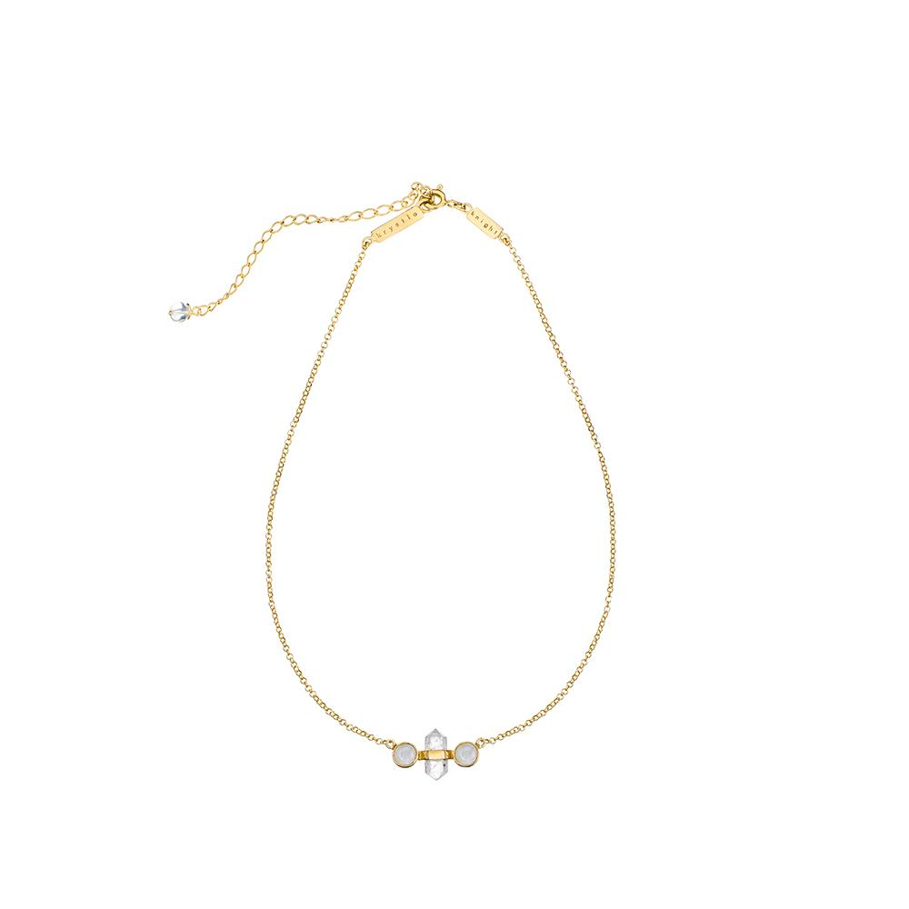 Krystle Knight Mini Goddess Choker - Gold