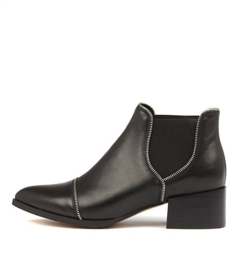 Mollini Diesels - Black Leather