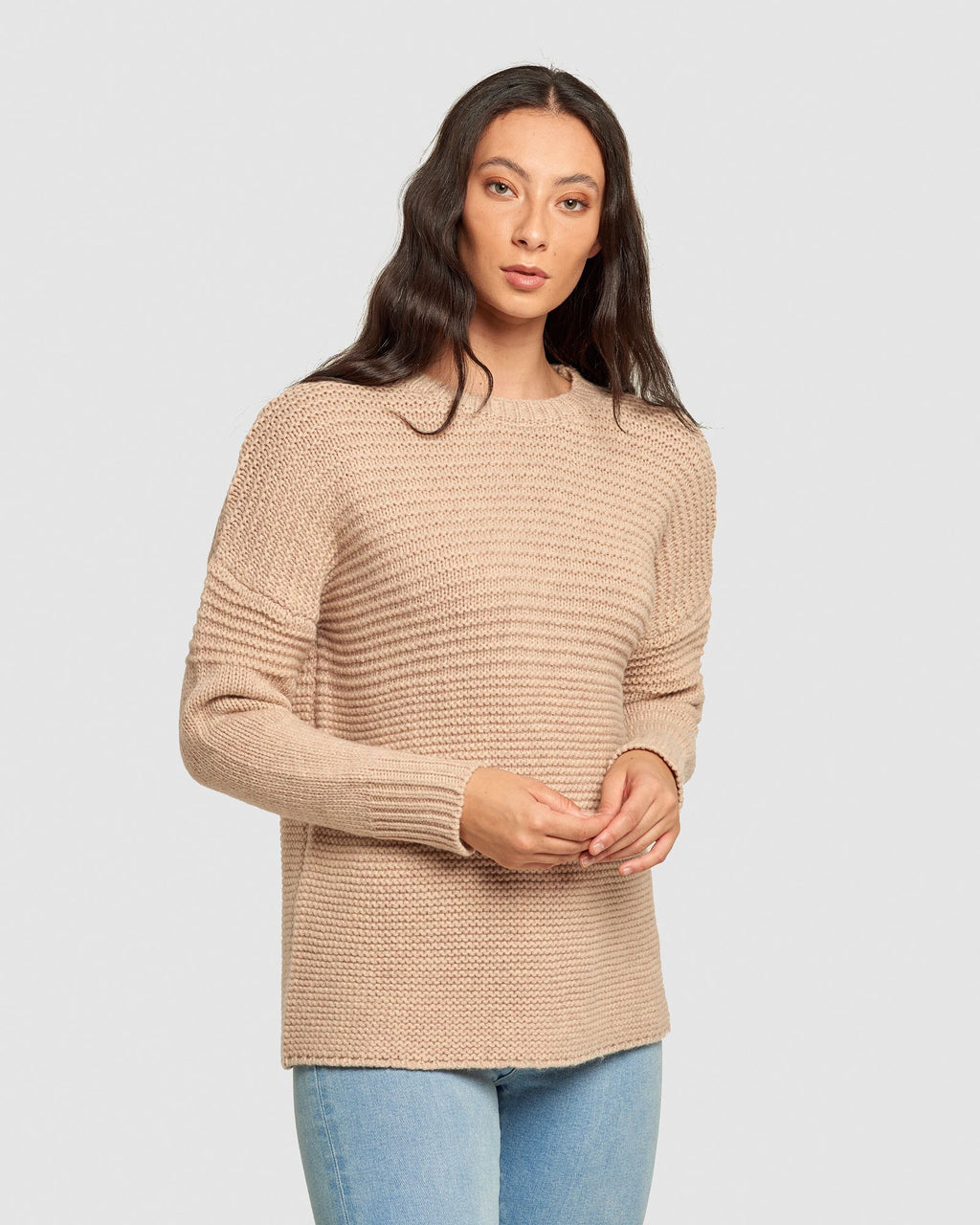 Maxted London Pullover - Cookie Dough Marle