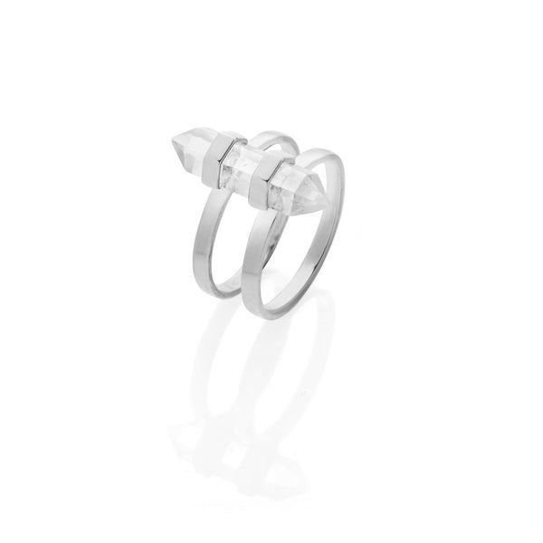 Krystle Knight New Harmony Ring - Silver