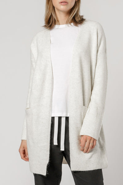 Nude Lucy Avery Cardigan - Grey Marle