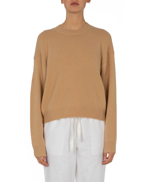 Nude Lucy Remi Crew Neck Jumper - Sand