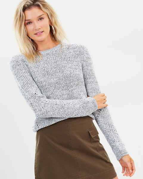 Nude Lucy Ames Classic Knit - Black/White
