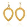 Temple of The Sun Padma Earrings - Gold