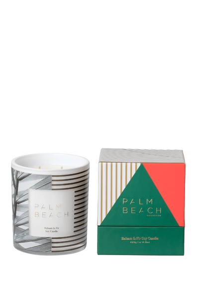 Palm Beach Christmas Standard Candle - Balsam & Fir