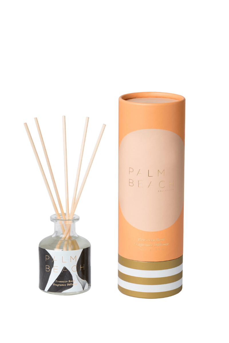 Palm Beach Christmas Mini Diffuser - Prosecco Rose`