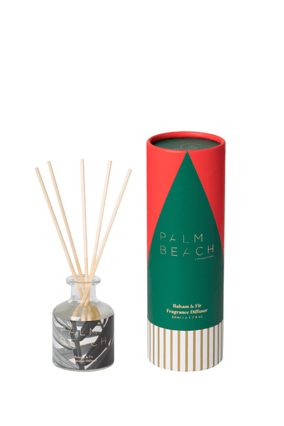 Palm Beach Christmas Mini Diffuser - Balsam & Fir