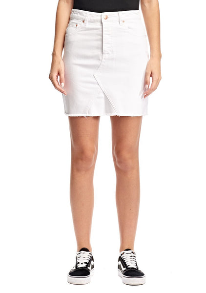 Res Denim Frankie Skirt - White