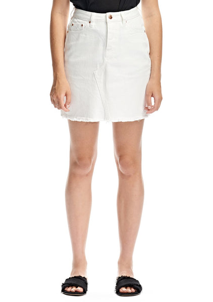 Res Denim Adore Skirt - White