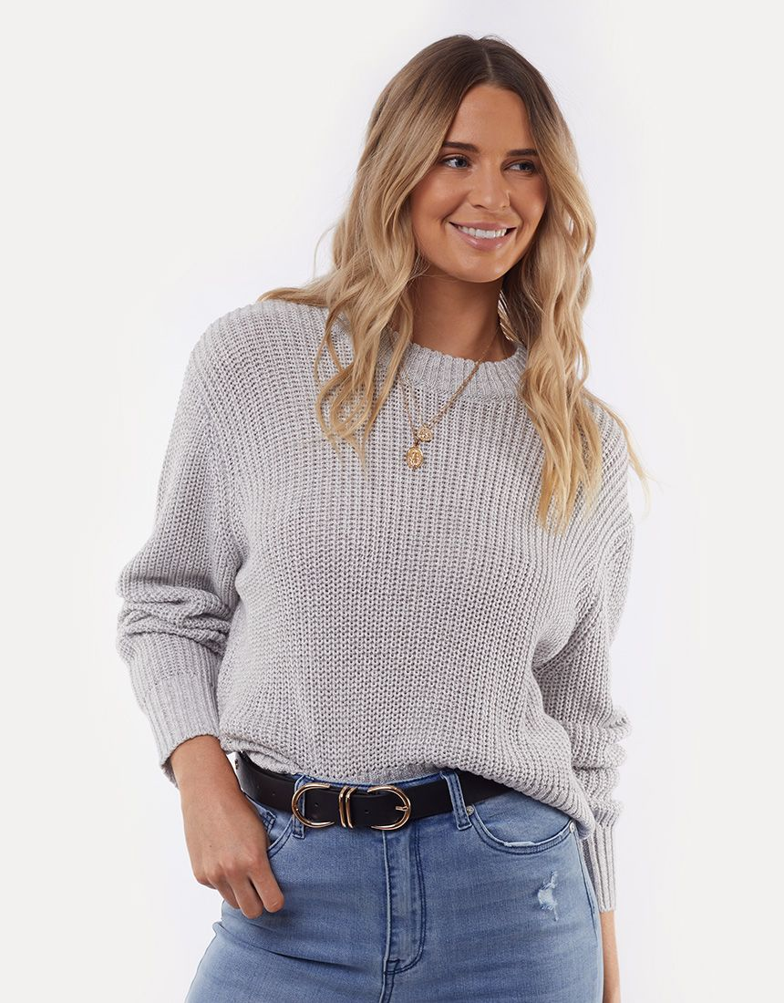 All About Eve Original Knit - Grey Marle