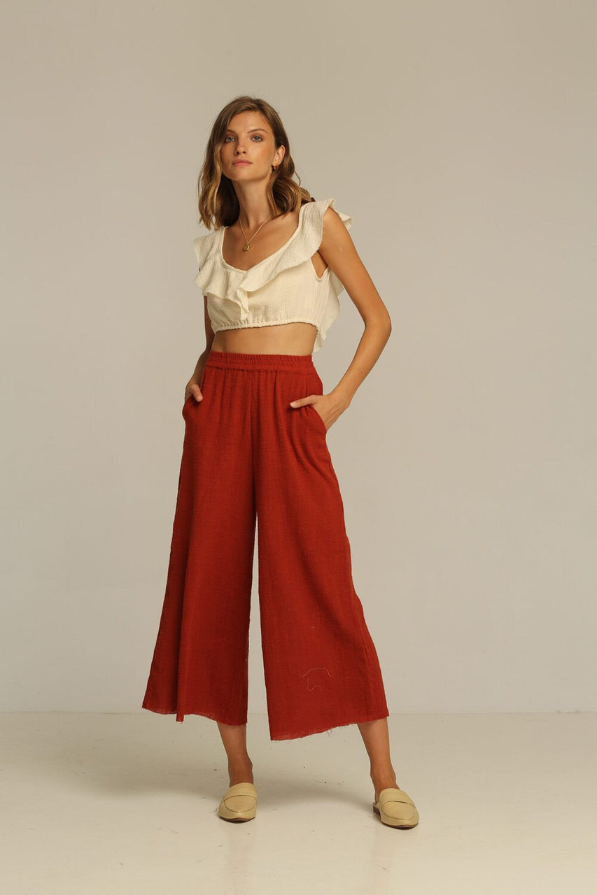 Rue Stiic Joni Pant - Canyon Red