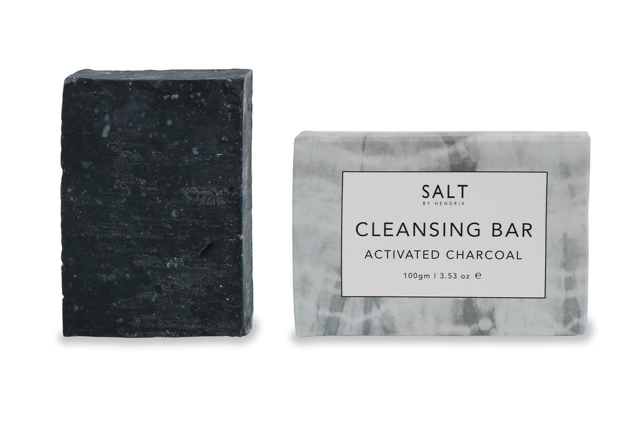 SALT Cleansing Bar - Charcoal