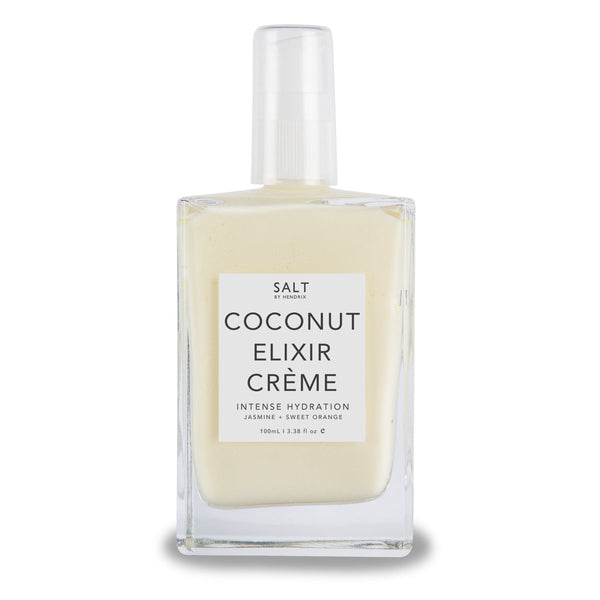 SALT Coconut Elixir Crème - Jasmine + Sweet Orange