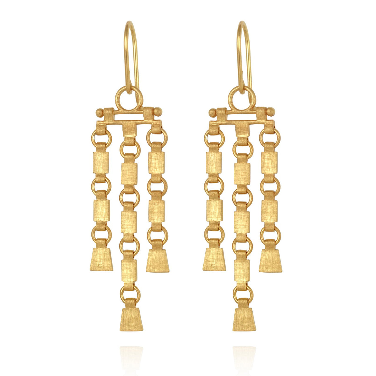 Temple of The Sun Sharni Earrings - Gold