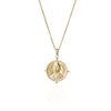 La Lune Rose 'Sojourner' Strength Necklace - Gold