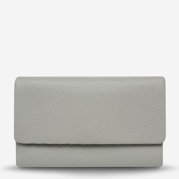 Status Anxiety Audrey Wallet - Light Grey Pebble