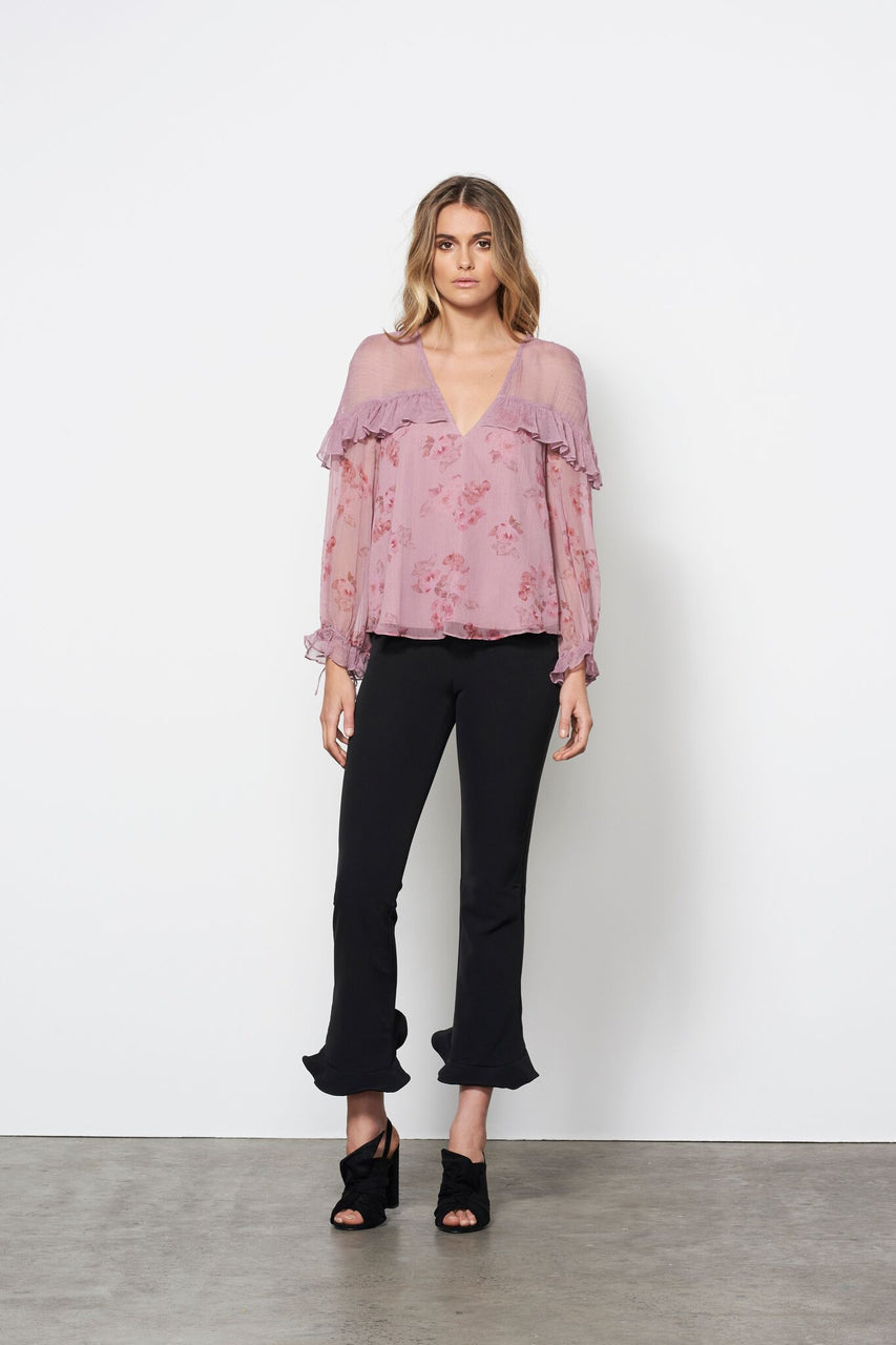 Stevie May Wild Rose L/S Top