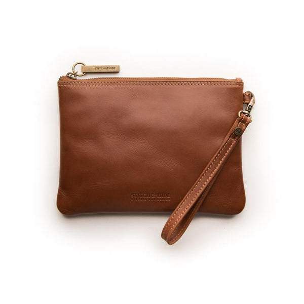 Stitch & Hide Cassie Clutch Classic Collection - Maple