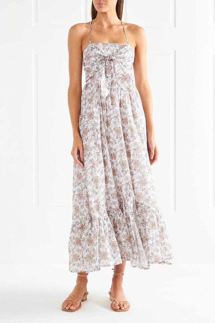 Tigerlily Margaux Maxi Dress White