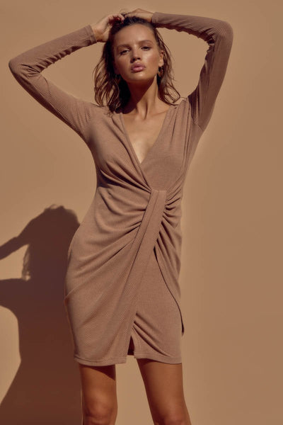 SNDYS The Label - Teddi Dress - Mocha