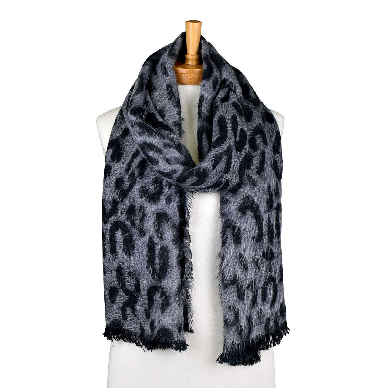 Taylor Hill Reversible Leopard Print Scarves - Assorted Colours