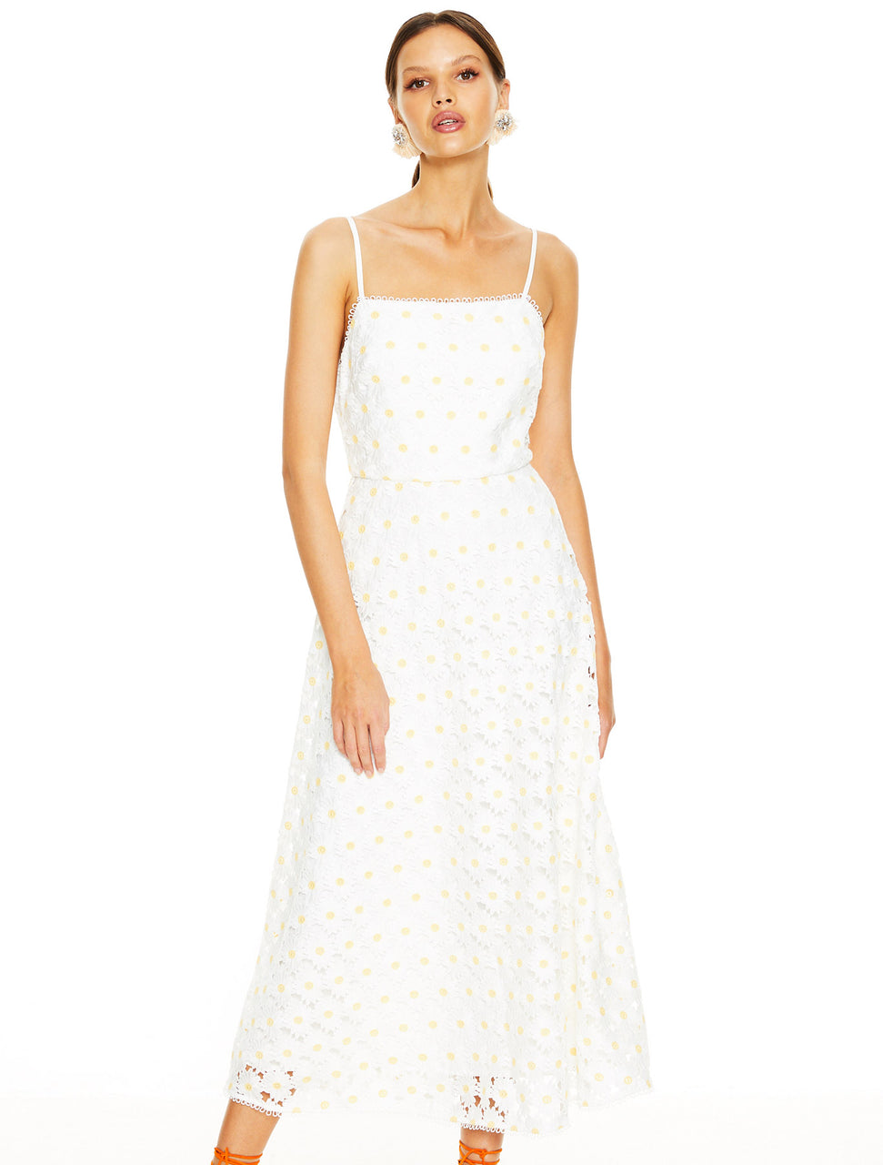 Talulah Spritzer Midi Dress - Daisy Crochet