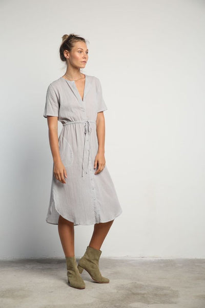 Lilya Taro Dress- Abyss