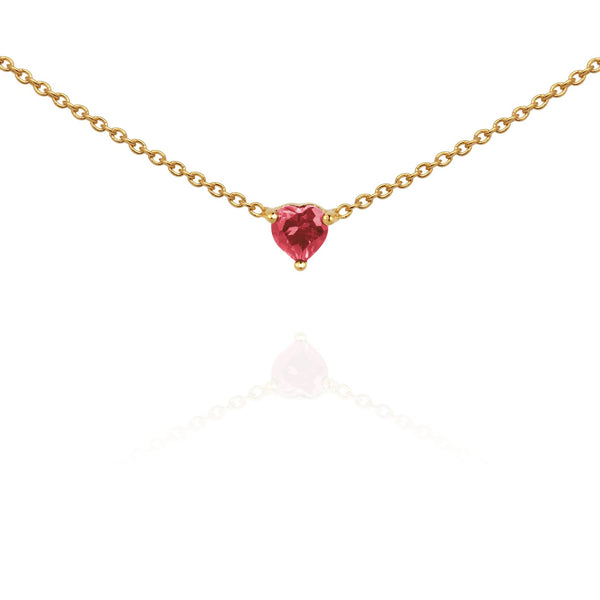 Temple Of The Sun Venus Necklace - Tourmaline Gold
