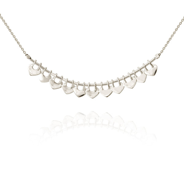 Temple Of The Sun Delli Necklace - Silver