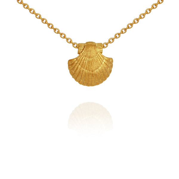 Temple Of The Sun Sia Necklace - Gold