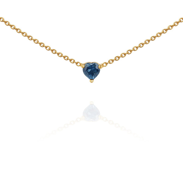 Temple Of The Sun Venus Necklace - Topaz Gold