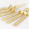 Temple Of The Sun Aku Earrings Gold