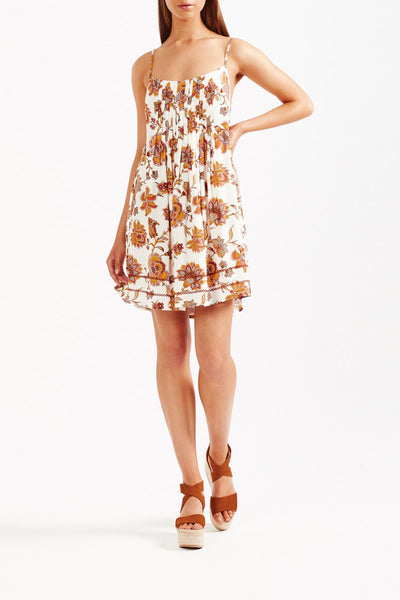 Tigerlily Aliki Sleeveless Mini Dress - White