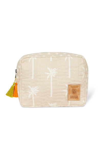 Tigerlily Tatiana Travel Case - Natural Palm