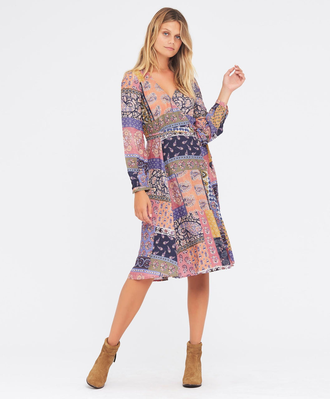 Tigerlily Tejano Dress Multi